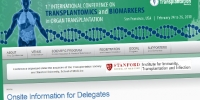 1st International Conference on Transplantomics and Biomarkers in Organ Transplantation